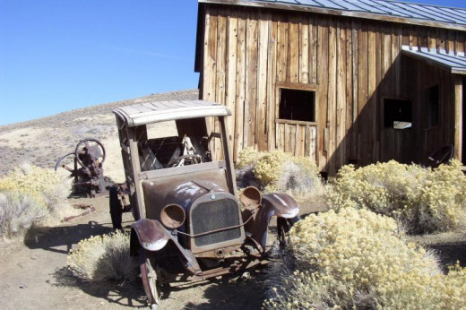Berlin is one of Nevada's most famous and frequently visited ghost towns; it is both historically interesting and spooky.