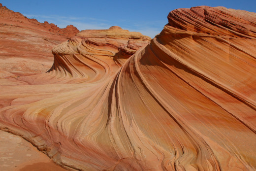"""The Wave,"" in the slope's of Arizona's Coyote Buttes."