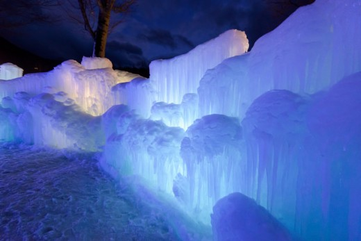 An ice-wall. Hopefully this doesn't describe the person you've become as a result of life.