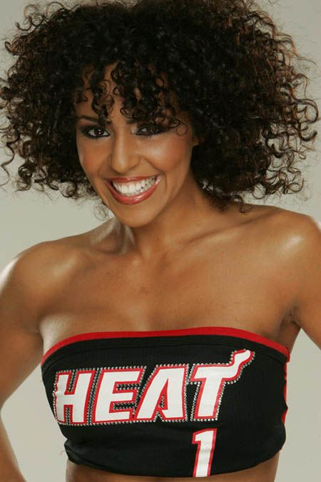 Layla when she was with the Miami Heat