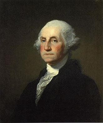 PRESIDENT GEORGE WASHINGTON, POTUS #1 1787 - 1791