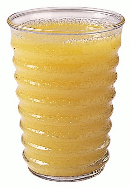 Orange juice ... Not just for breakfast
