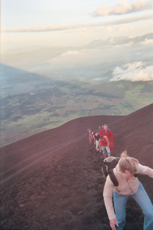 Want to hike up a volcano?  No reservations required.  Show up for the tour and pay your money and enjoy.