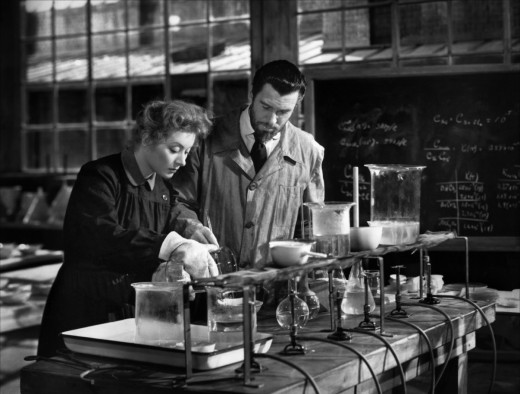 In 1943 we got a mainstream Hollywood film about a husband and wife who make scientific history together. Doesn't say much about progress that it would never be made today.