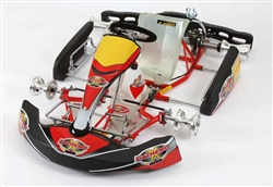 The typical type of road racing go-kart