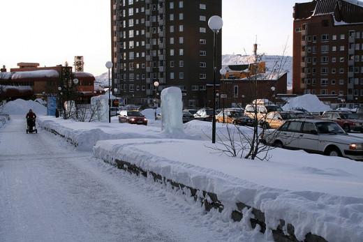 Kiruna town center