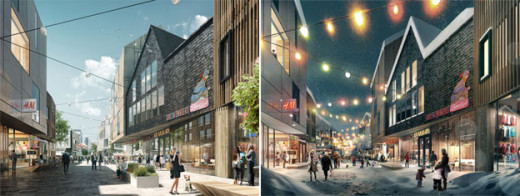 Artistic impression of the new Kiruna
