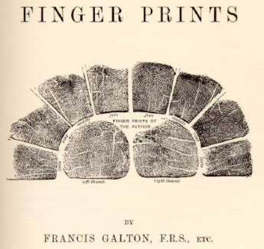 Finger Prints  Written by: Francis Henry Galton
