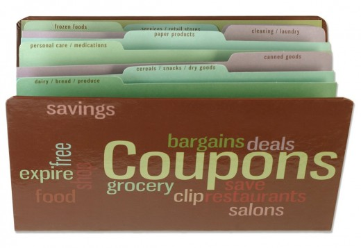 With 9 separate category dividers, the Meadowsweet Kitchens Coupon Organizer is an excellent tool for organizing and categorizing your coupons.  The expandable organizer is easy to clean too, just wipe it with a damp cloth.
