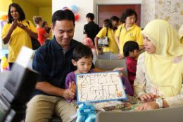 SCA baby brand Drypers supporting The National Autism Society of Malaysia