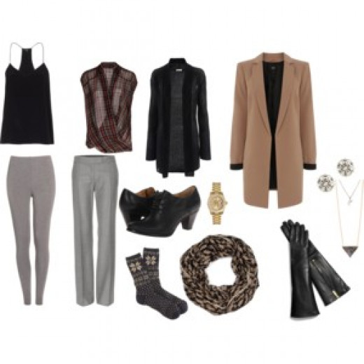 Sophisticated office wear for winter time!