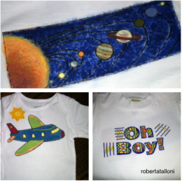 Three tee shirt designs for boys little and big.