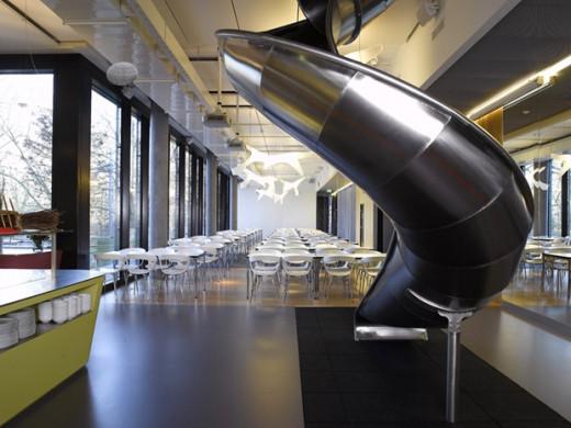 Inside Google's HQ in Zurich, Switzerland.