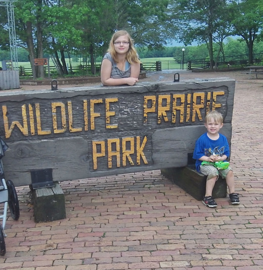Wildlife Prairie Park is an open animal reserve in Illinois