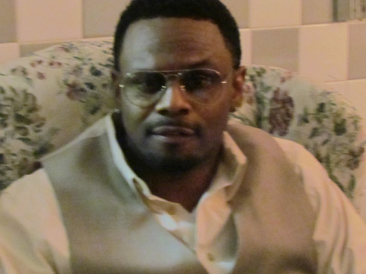 """The extremely talented Carl Thomas, performed his hits, """"I Wish, Summer Rain and Let's Talk About It."""""""