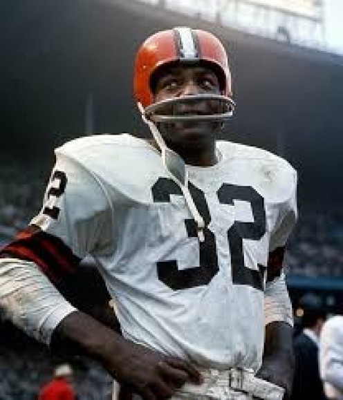 Jim Brown was a legendary football player in the NFL.