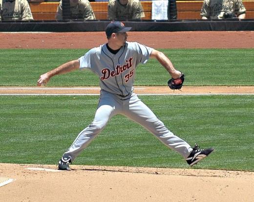 Detroit Tigers starting pitcher, Justin Verlander.