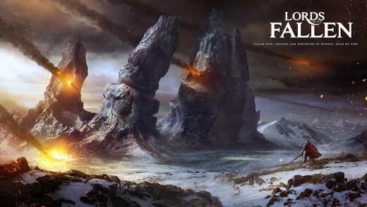 """Lords of  the Fallen"" is a game like ""Dark Souls"""