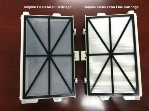 Dolphin Oasis Mesh and Extra Fine Filter Cartridges