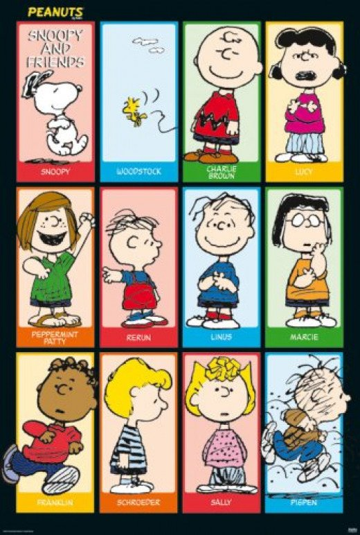 Peanuts - Snoopy & Friends 2 Poster Poster Print, 27x40