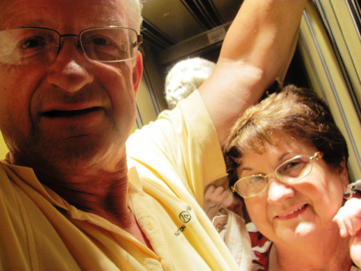 An elevator ride in France turned out to be a comedy of errors for my parents and I.  We learned the importance of reading signs and knowing your weight in kilograms.
