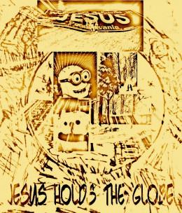 Jesus Holds The Globe