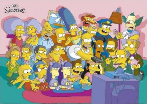 The Simpsons - TV Show Poster (Size: 24'' x 36'') by Moviepostersusa.com