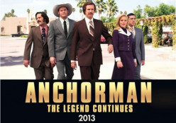 "Have you seen the movie ""Anchorman 2"" yet?"