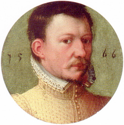 James Bothwell (1534-1578) is considered one of the main conspirators in the death of King Henry Stuart (Lord Darnley). Bothwell would die in a Danish prison in 1578 after 10 years of imprisonment.