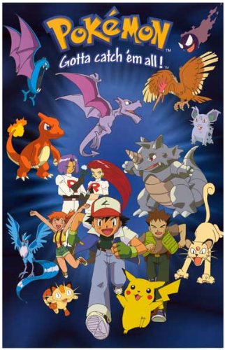 Pokemon - Gotta Catch 'Em All - Pikachu Ash 11x17 Poster