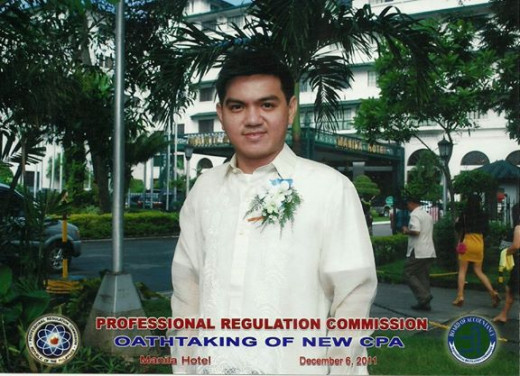 Oath taking as newly minted CPA