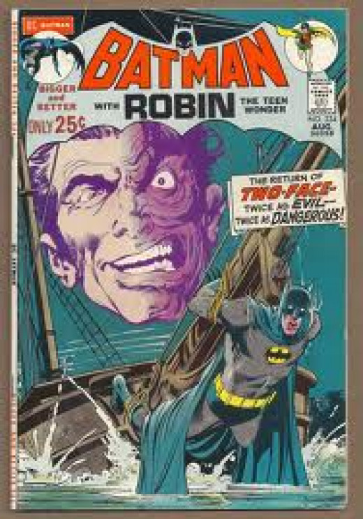 Batman issue 234 the first Silver Age appearance of Two Face.