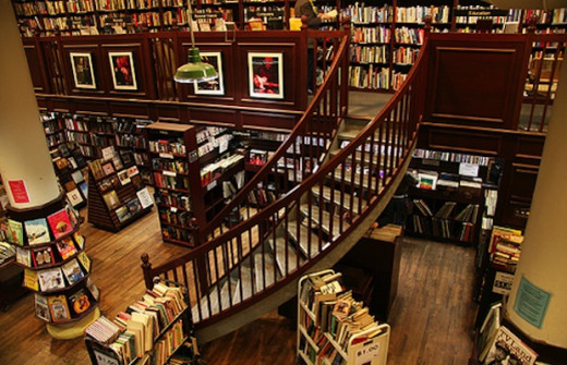 Located In Soho on 126th Crosby Street, The Housing Works Bookstore Cafe is a fantastic independent bookstore that still retains all the charm of bookstores past. It remains a hub for book lovers in the city amidst the slow extinction of others.