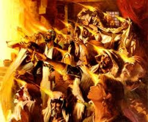 Spirit of Jesus comes on the Day of Pentecost, A.D. 30. An Erchomai class coming of Christ.