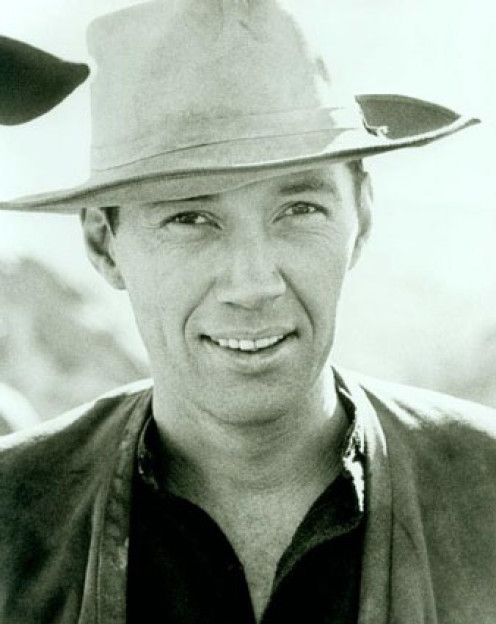 David Carradine  starred in the television series Kung Fu among many other roles in film.
