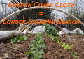 How to Use Row Cover Cloth to Grow a Better Vegetable Garden | Year-round Vegetable Gardening