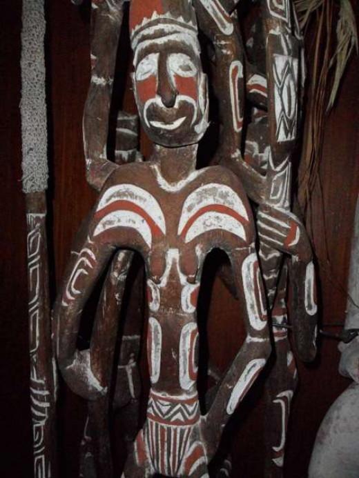 Asmat sculpture, Indonesia.