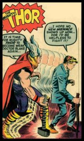 From Asgard God to Dr. Blake