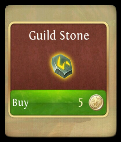 Order and Chaos guild stone.