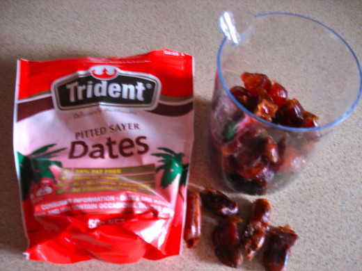 Add a Variety of Dried Fruit. Chop the Dates, but not too finely
