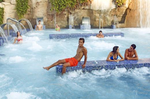 Jacuzzi Spa at Aqualandia