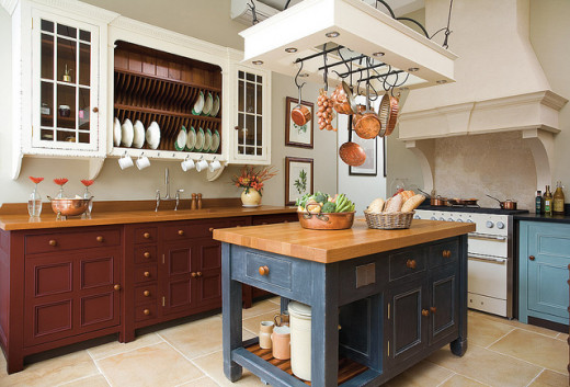 Kitchen Island Hanging Rack