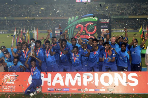 T20 World Cup Champions 2014
