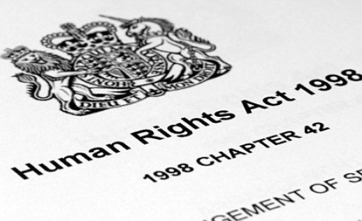 Human Rights Act 1998 - And don't you forget it!