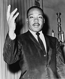 Martin Luther King, Jr from Wikipedea