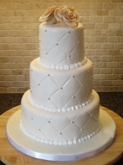 Fondant vs. Buttercream for a Wedding cake?