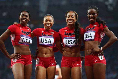 US Ladies Relay Team