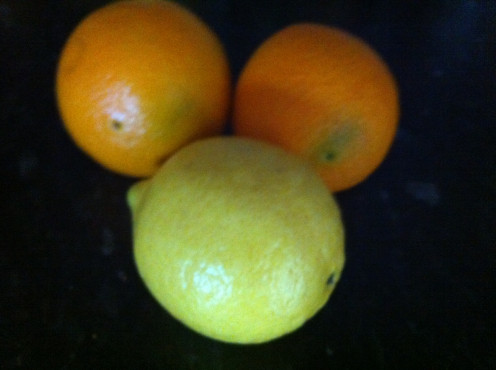 Try using different types of oranges and see which you like best