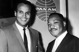 Harry Belafonte and Martin Luther King Jnr