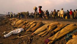 Tutsis on the run
